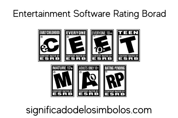 sistema esrb símbolos de los videojuegos y su significado