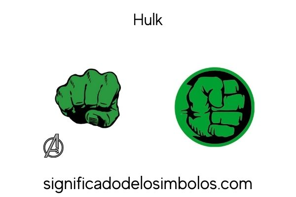 Hulk símbolos de marvel y su significado