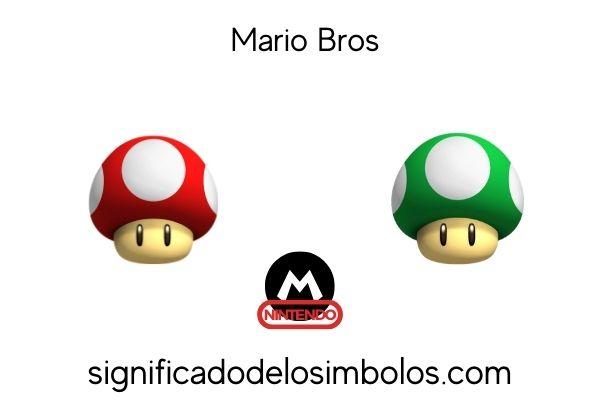 champiñón de Mario Bros símbolos de los videojuegos y su significado