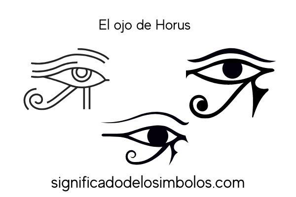 Ojo de Horus símbolos de brujería