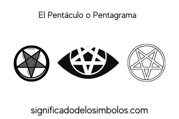 El pentagrama símbolos de brujería