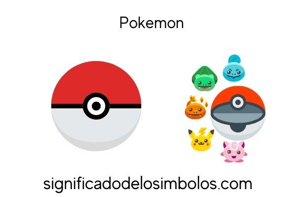 pokemon símbolos de los videojuegos y su significado