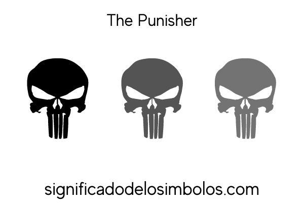 The punisher símbolos de marvel y su significado
