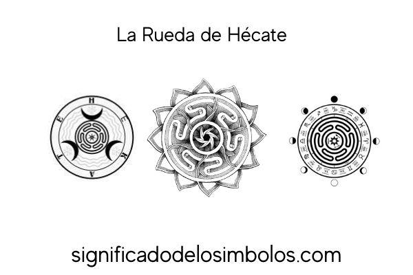 La rueda de hécate símbolos de brujería