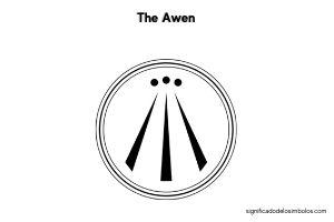 simbolos celtas the awen