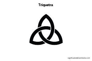 simbolos celtas triquetra